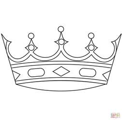 coloring crowns king crowns coloring pages coloring home