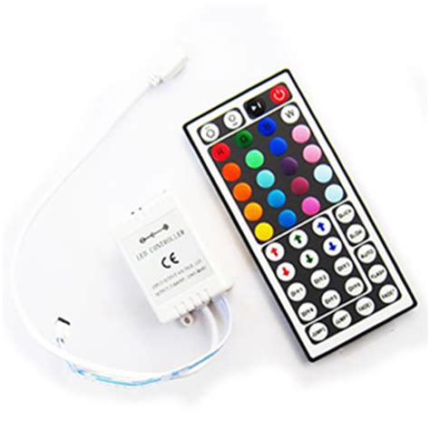 Led Light Strips With Remote Hitlights Rgb Multicolor Changing Smd5050 Led Light Kit 150 Leds 16 4 Ft Roll Cut To