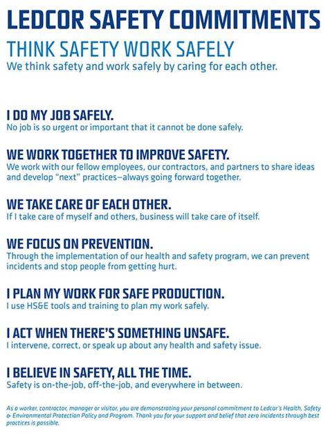 safety who we are ledcor