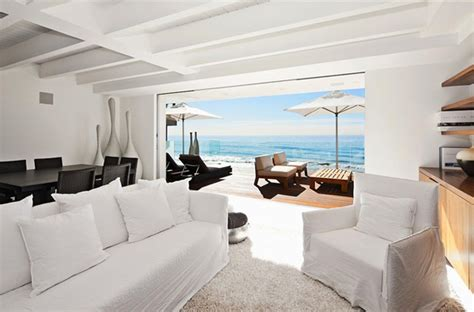 contemporary beach house interiors modern day malibu beach house combines modern interiors with unending ocean views