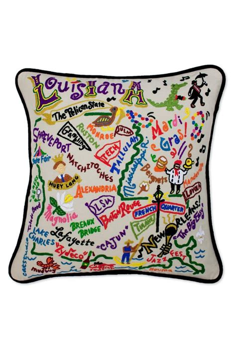 Catstudio Pillow Sale by Catstudio Louisiana Pillow From Lafayette By Caroline