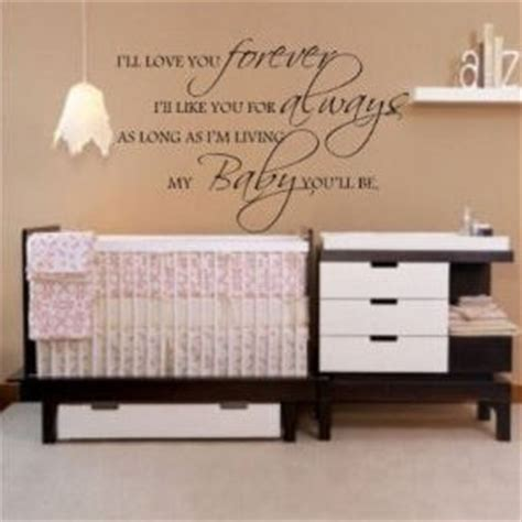 pink and brown nursery with an inspirational wall quote