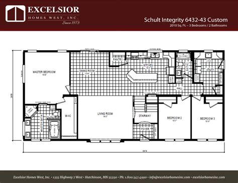 schultz home plans schult floor plan manufactured home