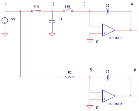 how does integrator circuit work switched capacitor resistor