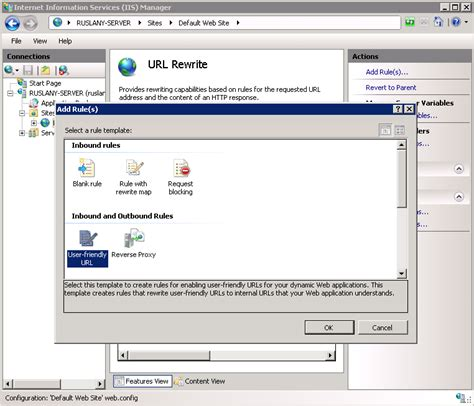 User Friendly Url Rule Template The Official Microsoft Iis Site Template Url