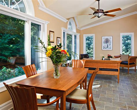 Dining Room Patio Doors Kitchen Renovation With Large Windows And Sliding Patio