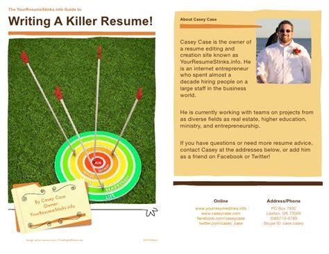 writing a killer resume writing a killer resume