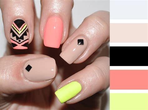 imagenes uñas azules 15 combinaciones de colores para una manicura perfecta