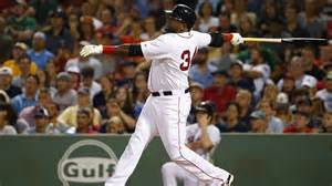 david ortiz blasts 495th home run onto green vs