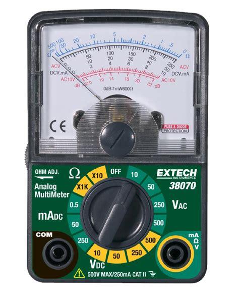 Multi Analog Extech Analog Multimeter Sears
