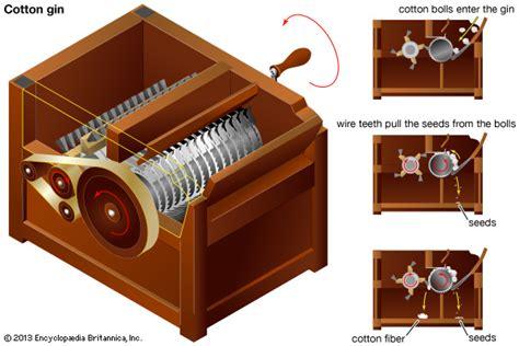 cotton gin diagram cotton gin encyclopedia children s homework help