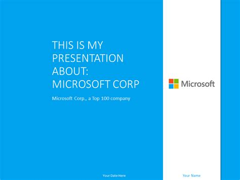 Microsoft Powerpoint Template Blue Presentationgo Com Free Templates For Microsoft Powerpoint