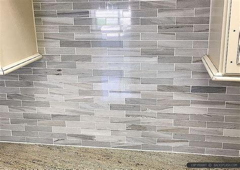 white modern subway marble mosaic contemporary design