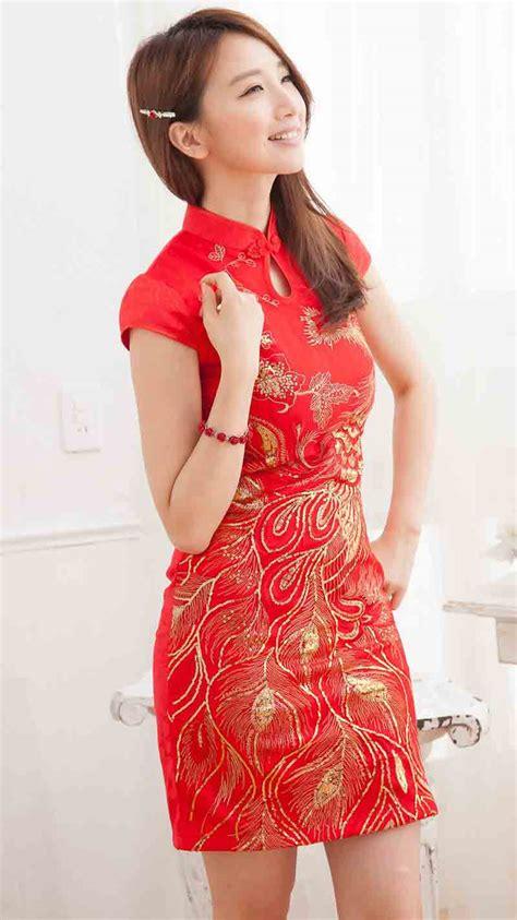 Setelan Xincia 0 1thn Baby Baju Imlek 2017 Dress Sincia Cheongsam gambar pakaian tradisional cina masyarakat cheonggsam
