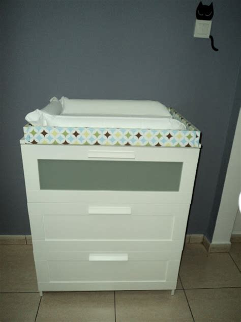 changing pad on ikea dresser baby changing table and dresser ikea hackers ikea hackers