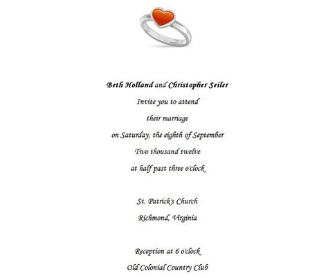 Wedding Ceremony Sles by Wedding Invites Sles Wording Wedding Invitation Ideas