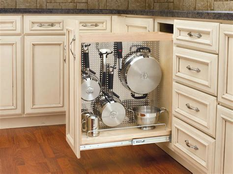 kitchen cabinet divider rack maximize your cabinet space with these 16 storage ideas