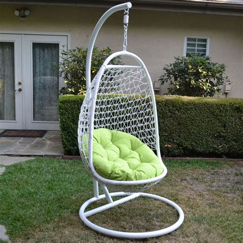 wicker hammock swing chair white lime wicker rattan swing chair weaved egg shape