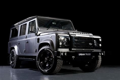 land rover truck 2016 land rover defender gets tricked out by urban truck