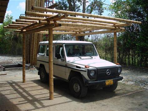 bamboo carport guadua bamboo carport big 1068 bambusexperte