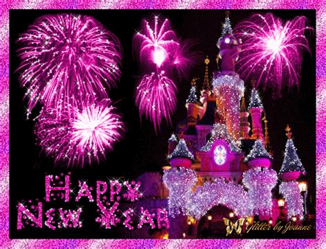 happy new year glitter graphics pink glitter happy new year disney land pictures photos