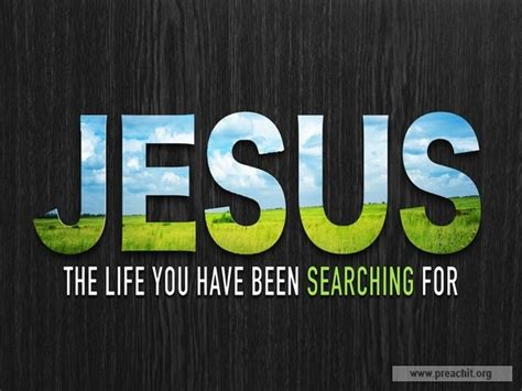 Search For Searching For You Sermon By Topic Jesus The You Been Searching For