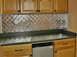 American Tin Ceiling Backsplash 25 amazing backsplashes to transform a kitchen