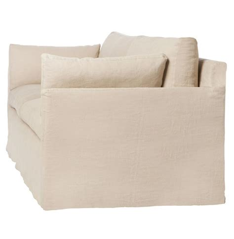 90 inch sofa cisco brothers louis modern classic oatmeal linen slip