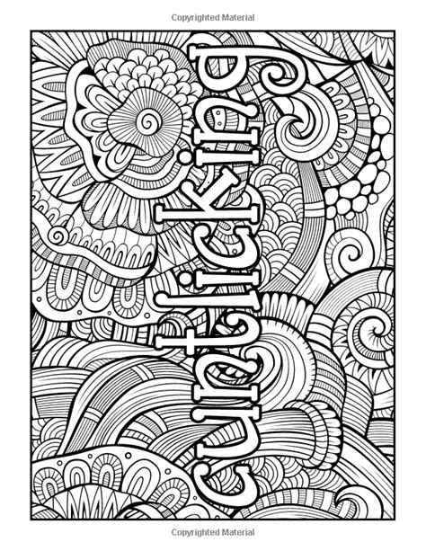 amazoncom swear word stress relieving coloring book