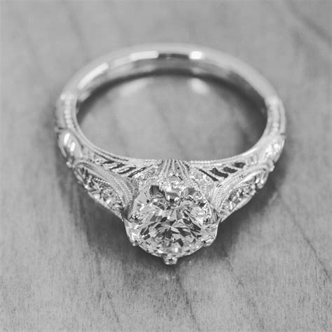 Vintage Engagement Rings by Vintage Filigree Wedding Engagement Rings Whitehouse