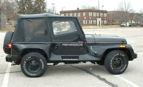 automotive air conditioning repair 1994 jeep wrangler auto manual 1991 jeep yj wrangler renegade for sale in sheboygan wisconsin united states