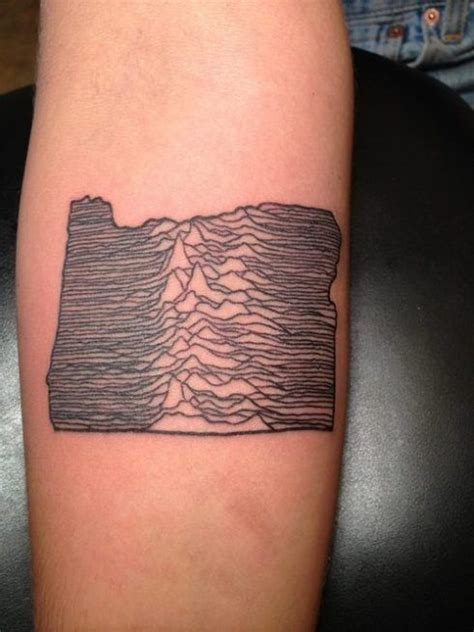 oregon tattoo ideas oregon topography tattoos oregon