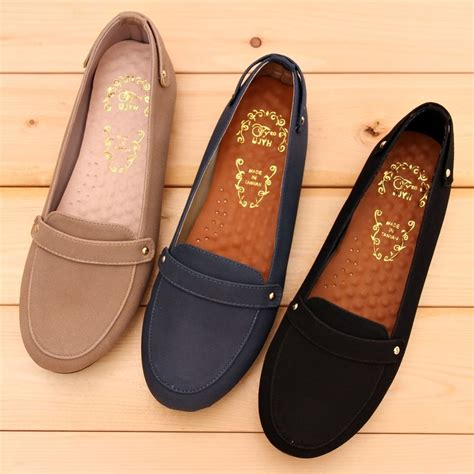 work flat shoes bn womens comfy soft casual walking work flats shoes
