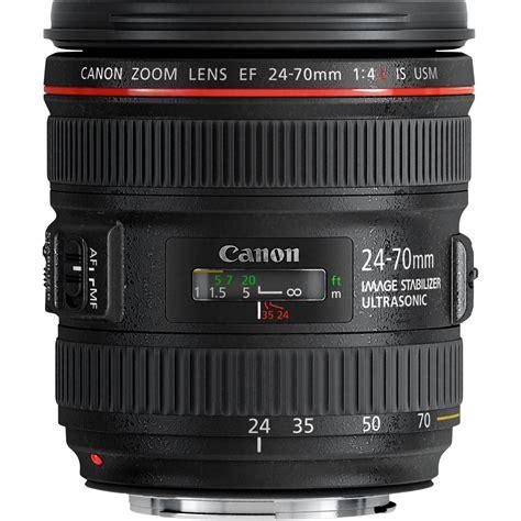 canon zoom objectif canon ef 24 70mm f 4l is usm dans objectifs zooms