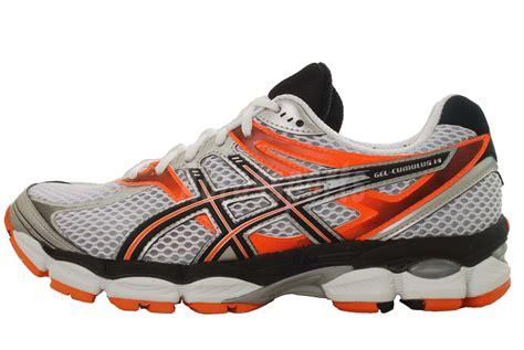 asics igs gel running shoes asics gel cumulus 14 15 16 runner sneakers igs mens