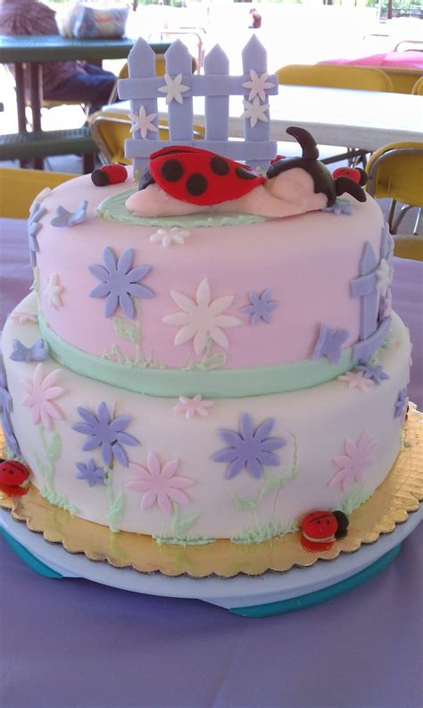 Garden Themed Baby Shower Cakes by Garden Baby Shower Cakecentral