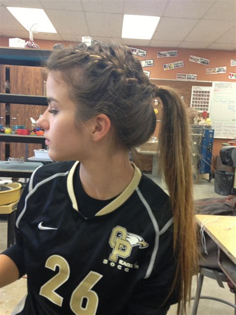 hairstyles for volleyball games i wish i could french braid my own hair hair styles