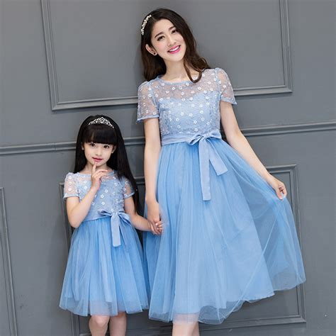 mother and daughter matching dress 2017 girls lace dress mother daughter dresses clothes