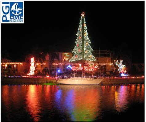 the saturday night before christmas eve boat parade the - Punta Gorda Boat Parade 2017