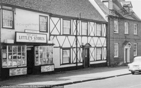 hatfield broad oak s stores and post office 1960