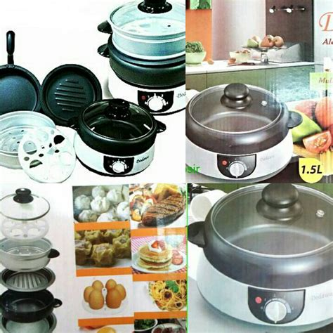 Great Timer Masak Panci 3 buy dodawa alat masak listrik 8 in 1 deals for only rp258 000 instead of rp279 000