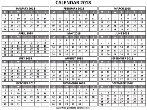 free printable calendars and planners 2018 2019 2020