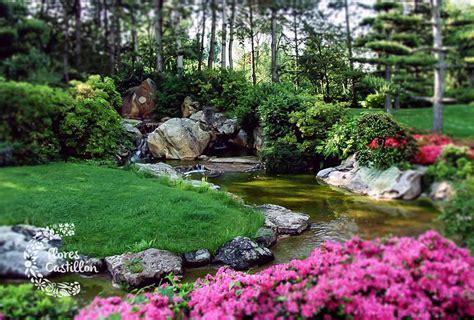 imagenes de zen koi jardines japoneses crea tu propio espacio zen flores
