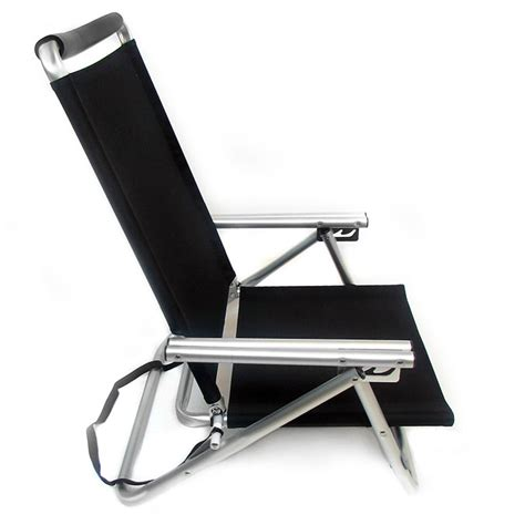 low reclining beach chair imprinted low boy 3 position reclining aluminum beach