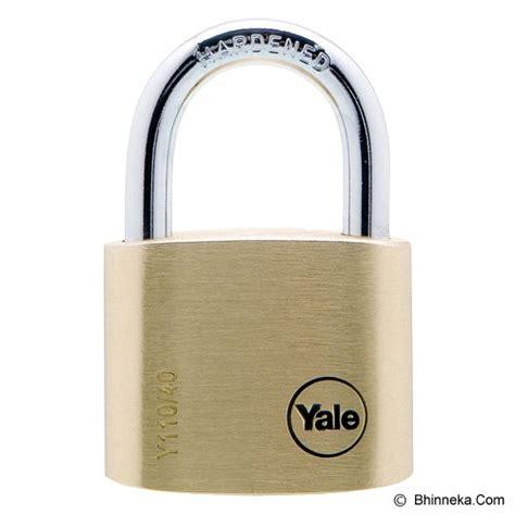 Gembok Yale jual yale brass padlock y110 40 123 4 murah bhinneka