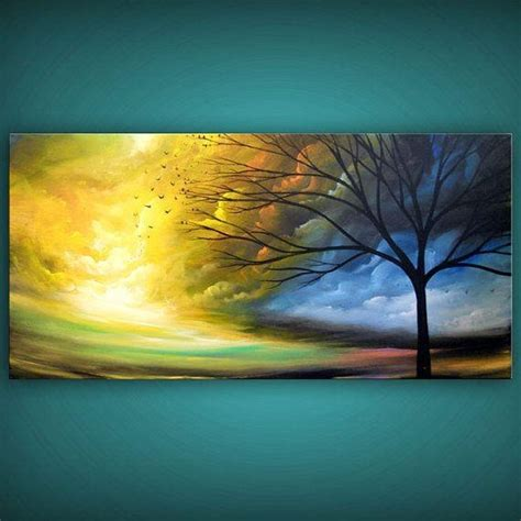 wall painting trees2018 20 abstract landscape wall wall ideas