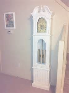 not so shabby shabby chic my grandfather clock