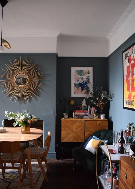 eclectic modern bohemian interior styling art deco