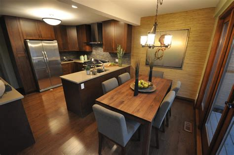 small kitchen and dining room combination makeovers love it or list it hgtv