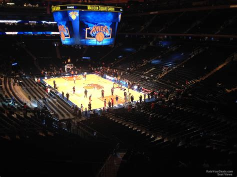 cwa section 301 madison square garden section 202 new york knicks